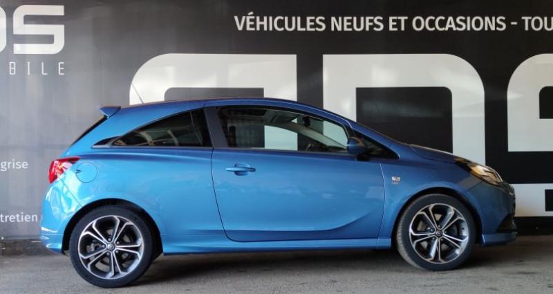 Opel Corsa V 1.4 Turbo 150ch S Start/Stop 3p Bleu occasion à Diebling - photo n°7
