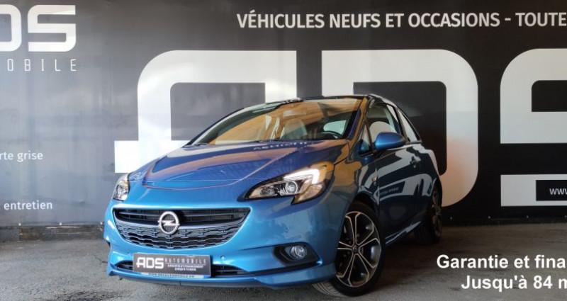 Opel Corsa V 1.4 Turbo 150ch S Start/Stop 3p Bleu occasion à Diebling - photo n°3