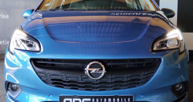 Opel Corsa V 1.4 Turbo 150ch S Start/Stop 3p Bleu occasion à Diebling - photo n°2