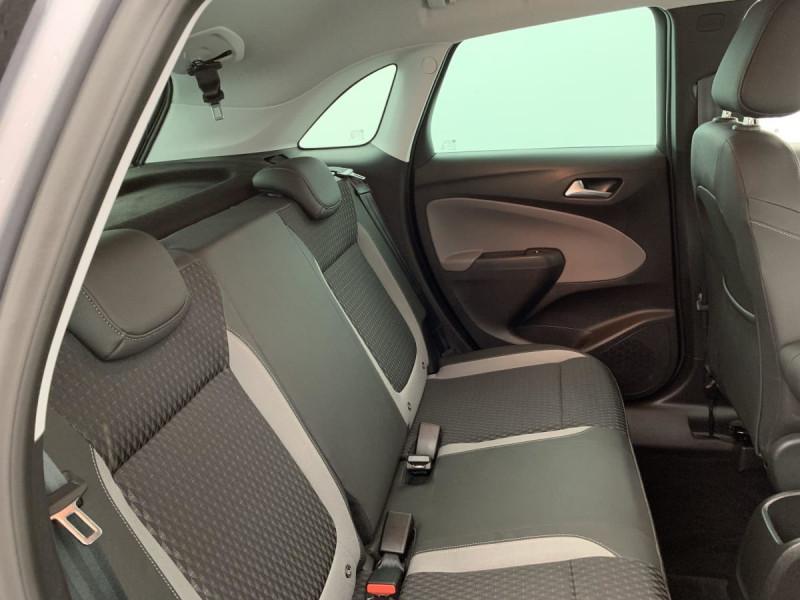 Opel Crossland X 1.2 Turbo 110 ch Elegance Gris occasion à SAINT-GREGOIRE - photo n°8