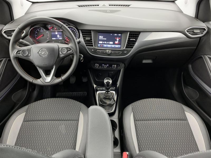 Opel Crossland X 1.2 Turbo 110 ch Elegance Gris occasion à SAINT-GREGOIRE - photo n°10