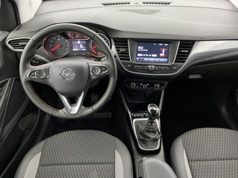 Opel Crossland X 1.2 Turbo 110 ch Elegance Gris occasion à SAINT-GREGOIRE - photo n°11