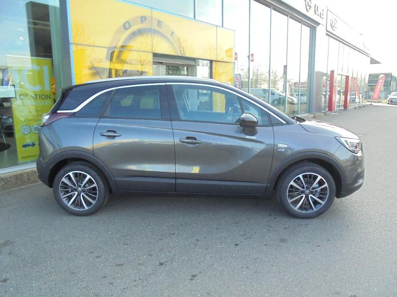 Opel Crossland X 1.2 Turbo 110ch Design 120 ans Euro 6d-T Gris occasion à Vert-Saint-Denis - photo n°3