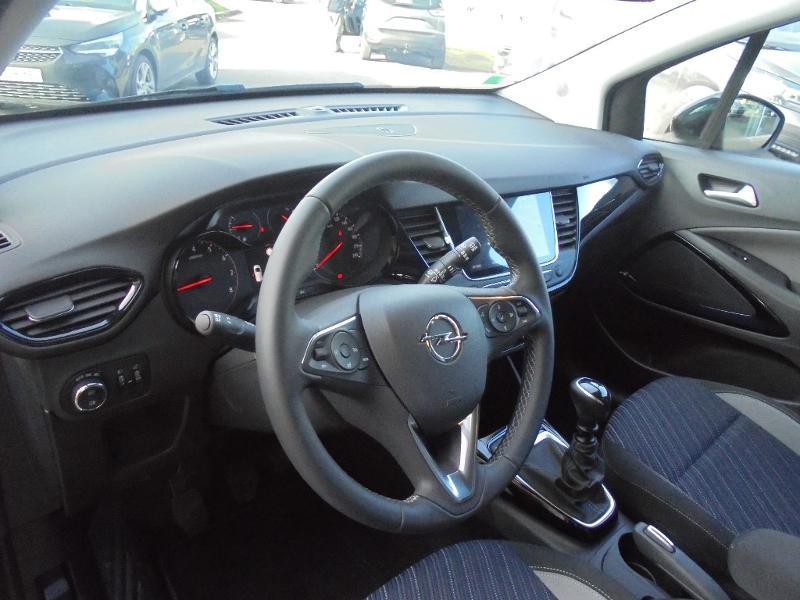 Opel Crossland X 1.2 Turbo 110ch Design 120 ans Euro 6d-T Gris occasion à Vert-Saint-Denis - photo n°6