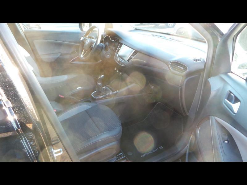 Opel Crossland X 1.2 Turbo 110ch ECOTEC Innovation Noir occasion à Vert-Saint-Denis - photo n°10