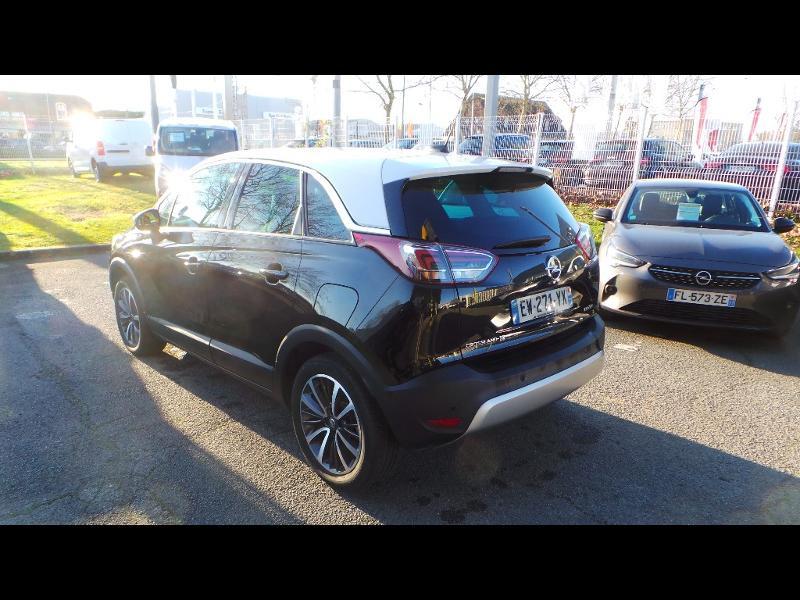 Opel Crossland X 1.2 Turbo 110ch ECOTEC Innovation Noir occasion à Vert-Saint-Denis - photo n°3