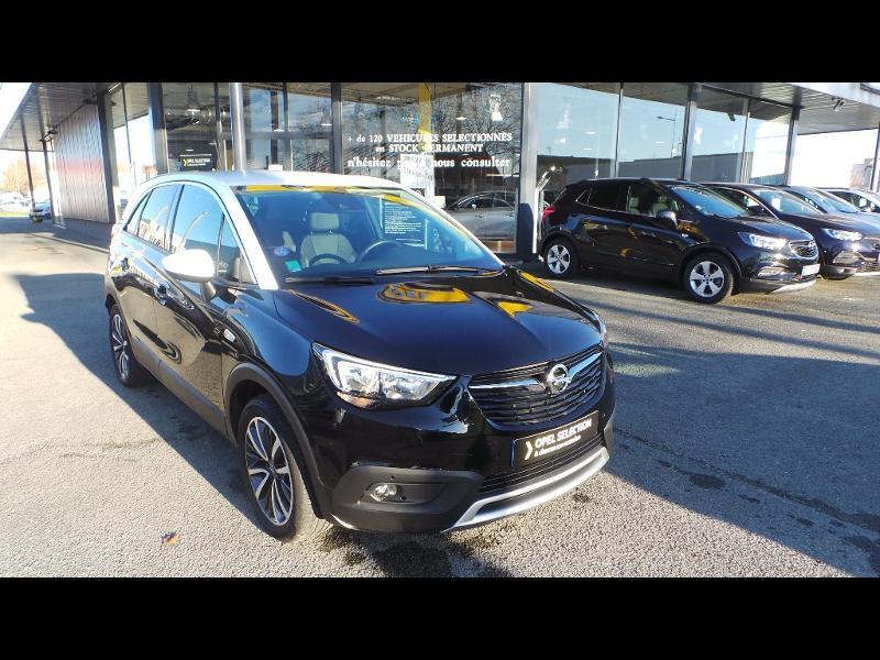 Opel Crossland X 1.2 Turbo 110ch ECOTEC Innovation Noir occasion à Vert-Saint-Denis