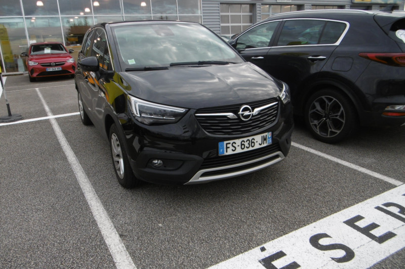 Opel Crossland X 1.2 Turbo 110ch Elegance 6cv Noir occasion à Brive La Gaillarde