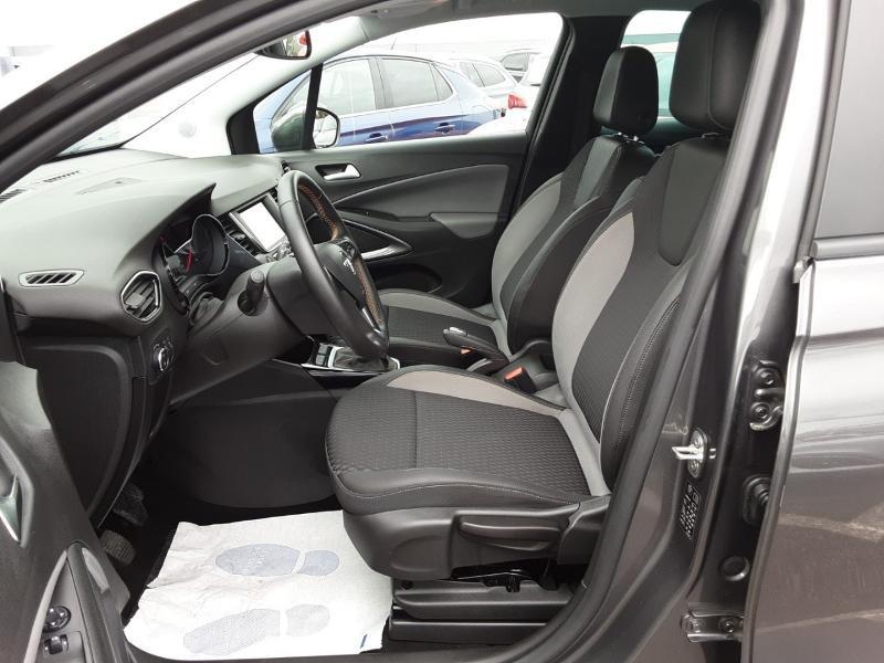 Opel Crossland X 1.2 Turbo 110ch Elegance 6cv Noir occasion à Vert-Saint-Denis - photo n°9
