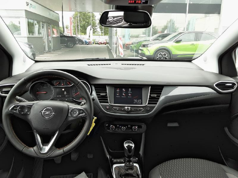 Opel Crossland X 1.2 Turbo 110ch Elegance 6cv Noir occasion à Vert-Saint-Denis - photo n°8