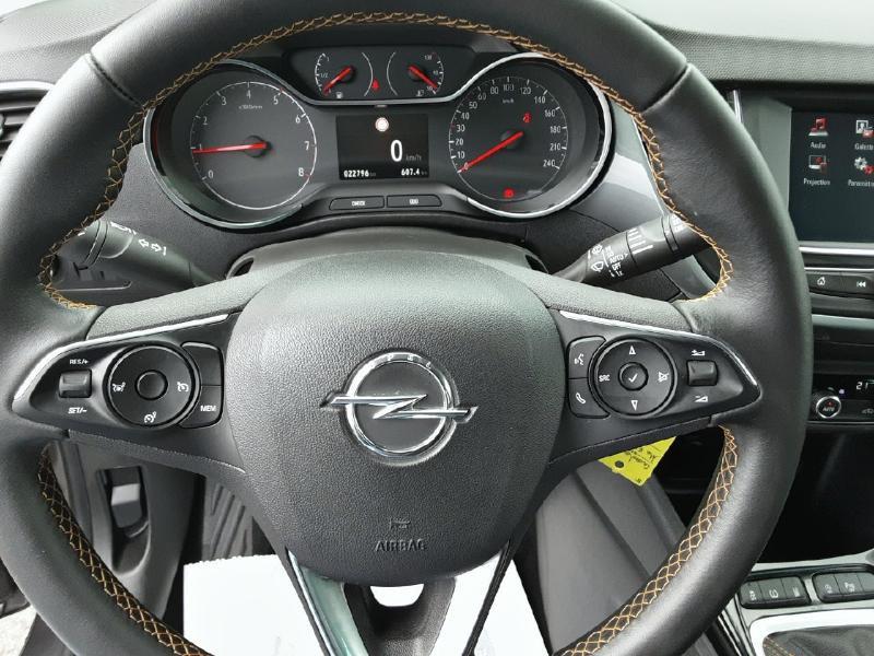 Opel Crossland X 1.2 Turbo 110ch Elegance 6cv Noir occasion à Vert-Saint-Denis - photo n°15