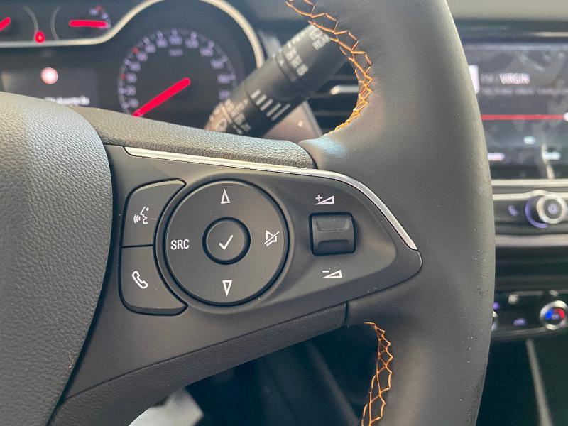 Opel Crossland X 1.2 Turbo 110ch Elegance 6cv Blanc occasion à Meaux - photo n°14