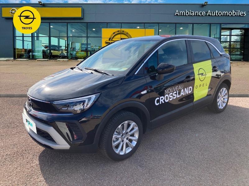 Opel Crossland X 1.2 Turbo 110ch Elegance 6cv Noir occasion à Barberey-Saint-Sulpice