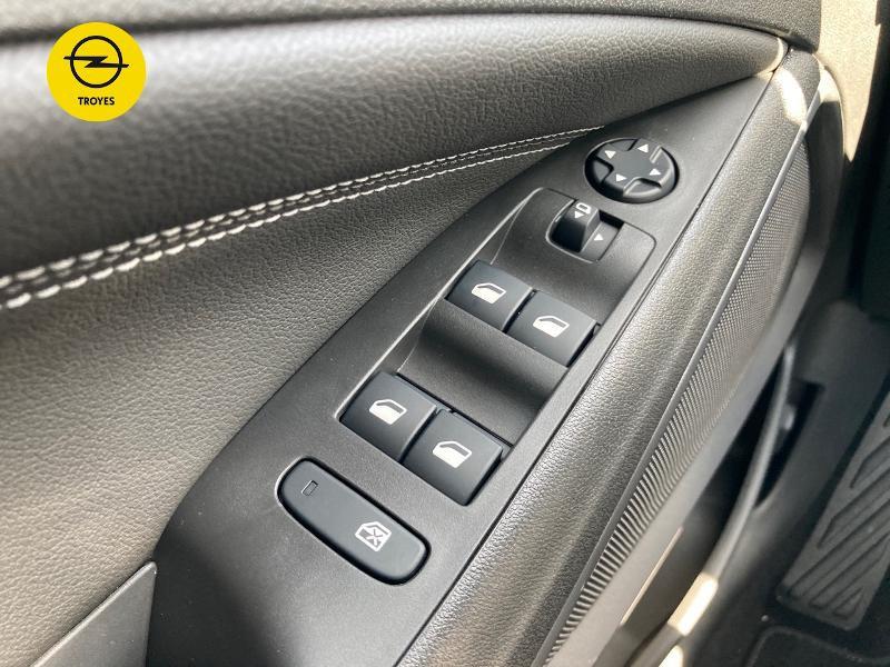 Opel Crossland X 1.2 Turbo 110ch Elegance 6cv Noir occasion à Barberey-Saint-Sulpice - photo n°19