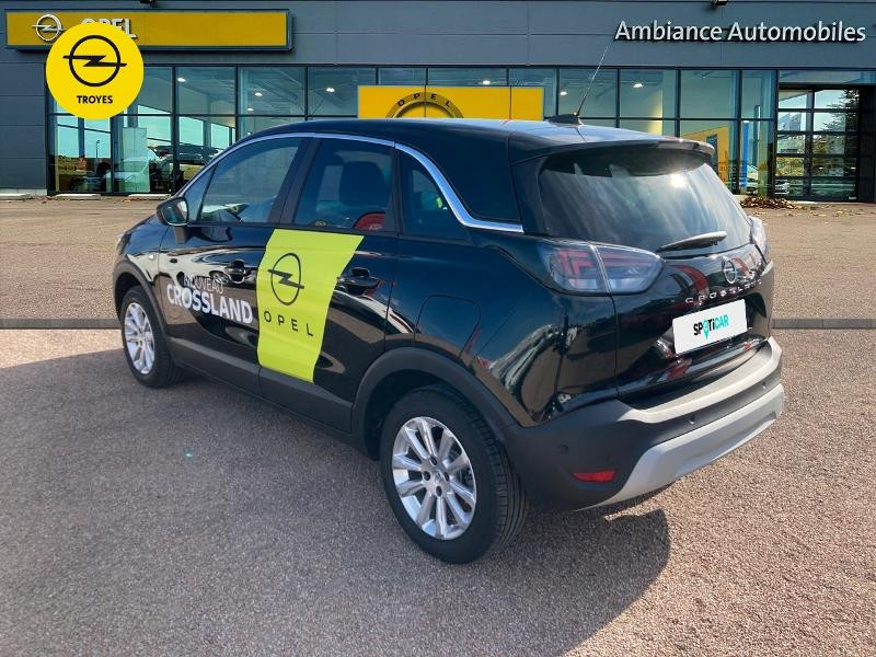 Opel Crossland X 1.2 Turbo 110ch Elegance 6cv Noir occasion à Barberey-Saint-Sulpice - photo n°7