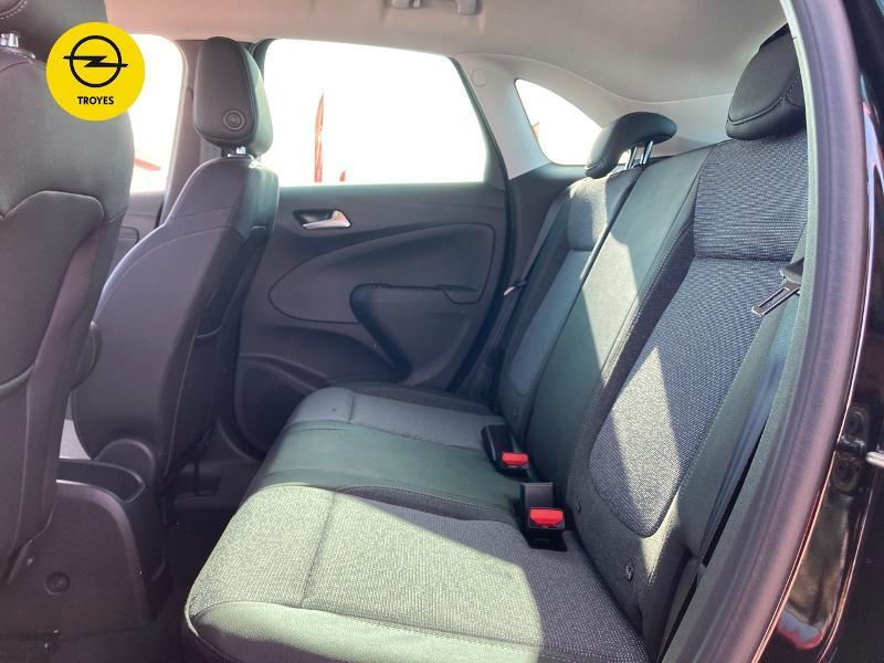 Opel Crossland X 1.2 Turbo 110ch Elegance 6cv Noir occasion à Barberey-Saint-Sulpice - photo n°10