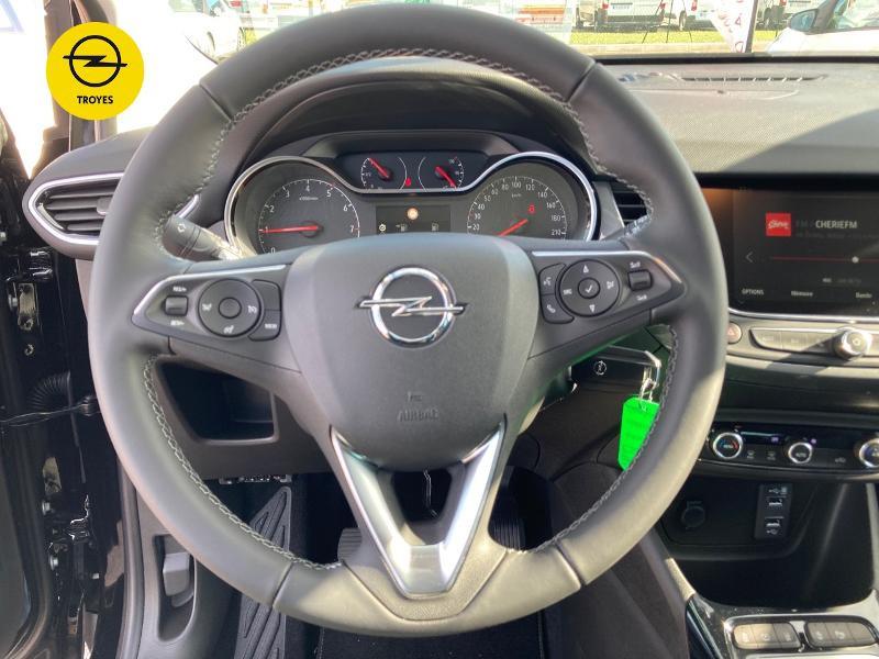 Opel Crossland X 1.2 Turbo 110ch Elegance 6cv Noir occasion à Barberey-Saint-Sulpice - photo n°12