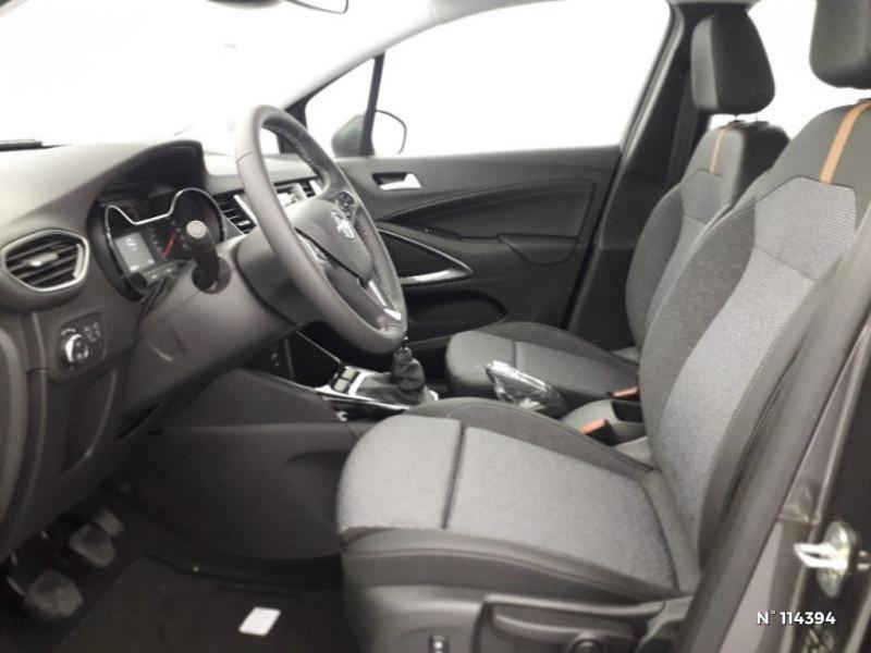 Opel Crossland X 1.2 Turbo 110ch Elegance 6cv Gris occasion à Montévrain - photo n°12