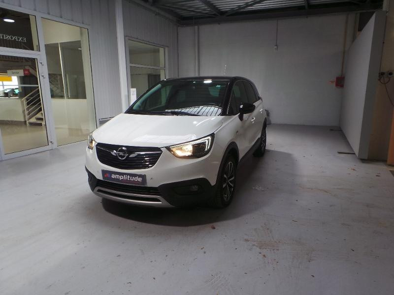 Opel Crossland X 1.2 Turbo 110ch Innovation BVA Blanc occasion à Corbeil-Essonnes - photo n°3