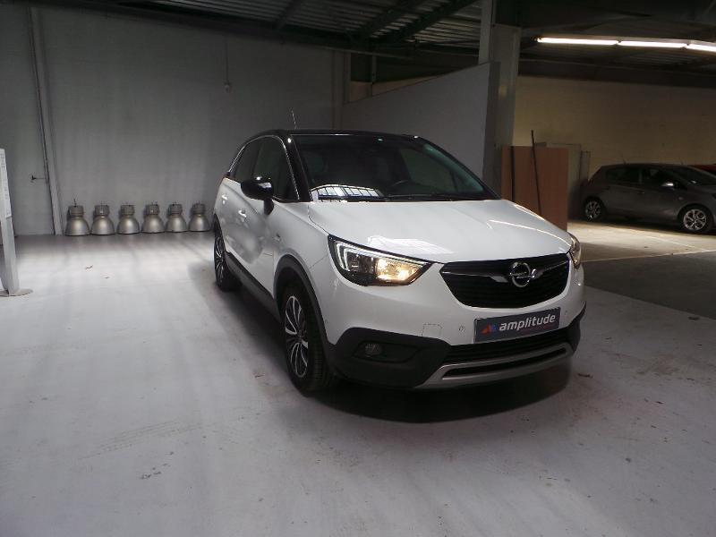 Opel Crossland X 1.2 Turbo 110ch Innovation BVA Blanc occasion à Corbeil-Essonnes
