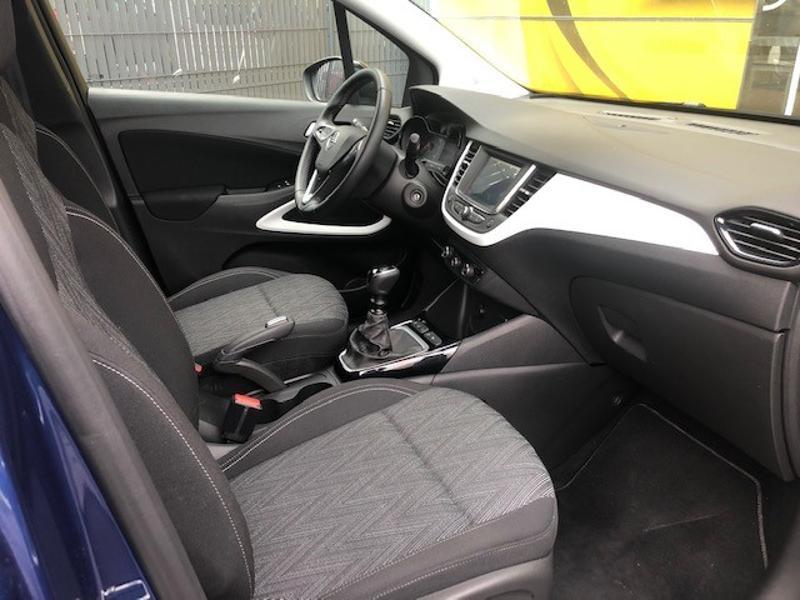 Opel Crossland X 1.2 Turbo 110ch Opel 2020 6cv Bleu occasion à Corbeil-Essonnes - photo n°18