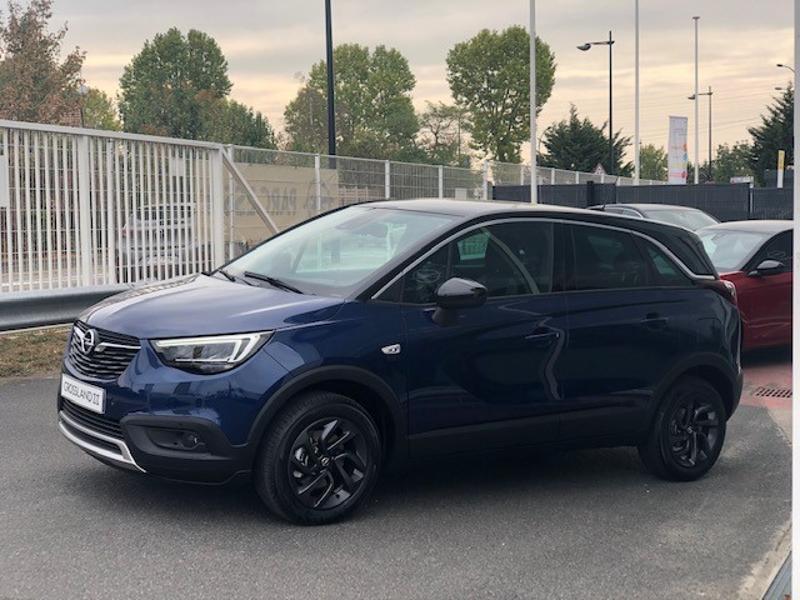 Opel Crossland X 1.2 Turbo 110ch Opel 2020 6cv Bleu occasion à Corbeil-Essonnes - photo n°2