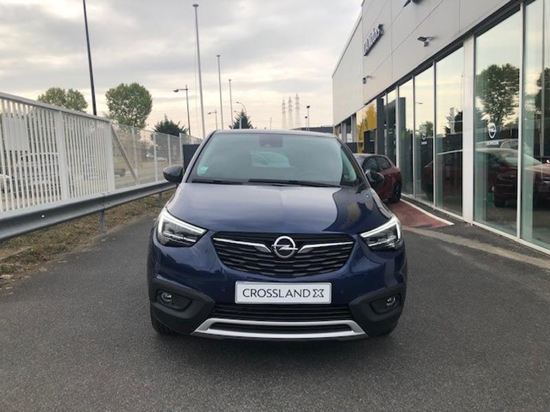 Opel Crossland X 1.2 Turbo 110ch Opel 2020 6cv Bleu occasion à Corbeil-Essonnes - photo n°4