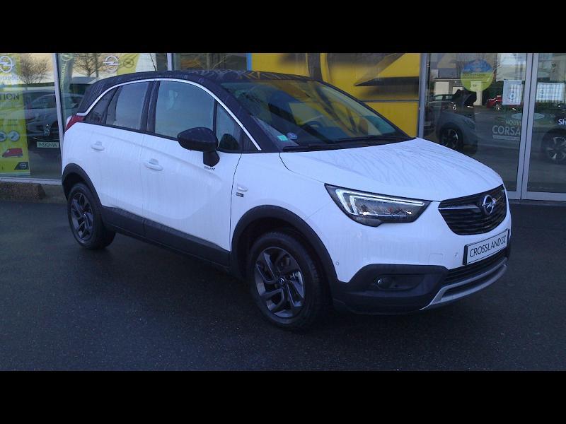 Opel Crossland X 1.2 Turbo 110ch Opel 2020 6cv Blanc occasion à Vert-Saint-Denis
