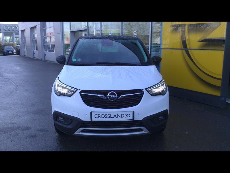 Opel Crossland X 1.2 Turbo 110ch Opel 2020 6cv Blanc occasion à Vert-Saint-Denis - photo n°2