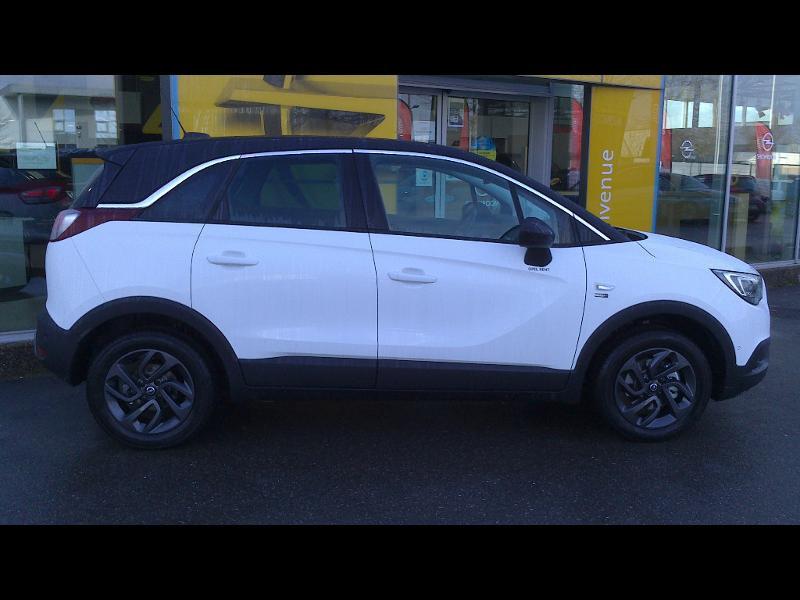 Opel Crossland X 1.2 Turbo 110ch Opel 2020 6cv Blanc occasion à Vert-Saint-Denis - photo n°3