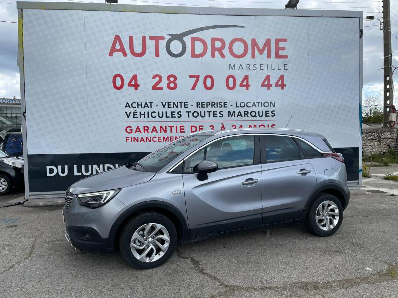 Opel Crossland X 1.2 Turbo 130ch Elegance BVA - 1 400 Kms Gris occasion à Marseille 10 - photo n°4