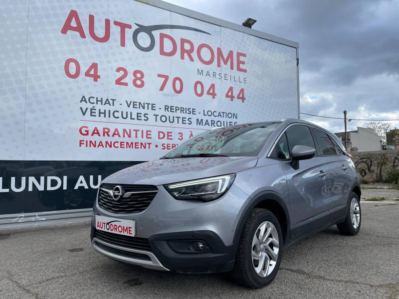 Opel Crossland X 1.2 Turbo 130ch Elegance BVA - 1 400 Kms Gris occasion à Marseille 10