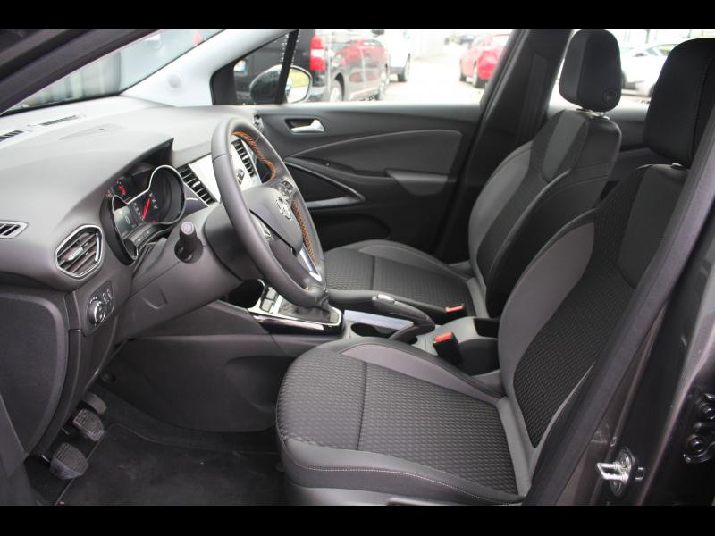Opel Crossland X 1.2 Turbo 130ch Elegance Euro 6d-T Gris occasion à Cerisé - photo n°5