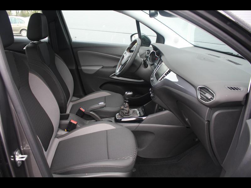 Opel Crossland X 1.2 Turbo 130ch Elegance Euro 6d-T Gris occasion à Cerisé - photo n°7