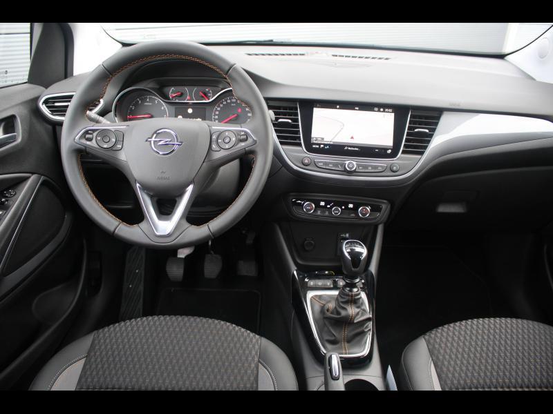 Opel Crossland X 1.2 Turbo 130ch Elegance Euro 6d-T Gris occasion à Cerisé - photo n°9