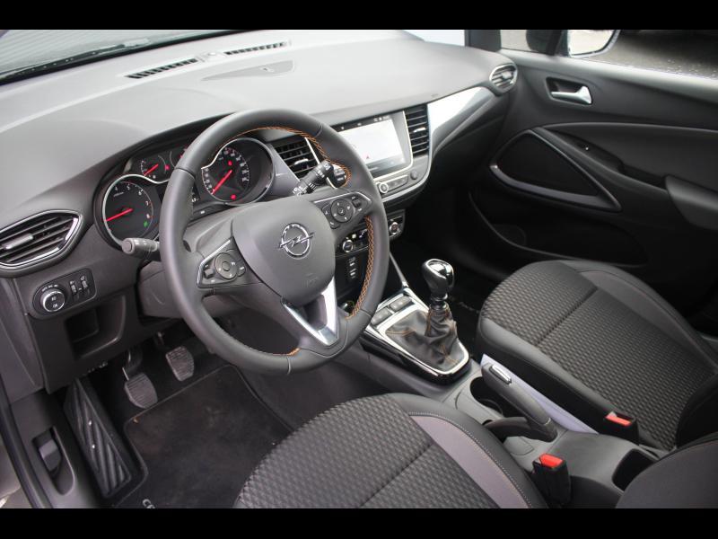 Opel Crossland X 1.2 Turbo 130ch Elegance Euro 6d-T Gris occasion à Cerisé - photo n°4