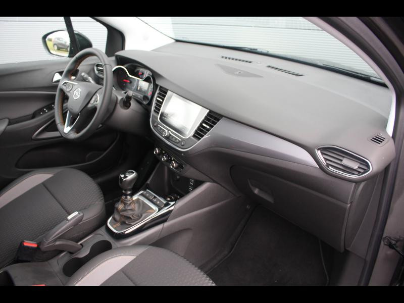Opel Crossland X 1.2 Turbo 130ch Elegance Euro 6d-T Gris occasion à Cerisé - photo n°6