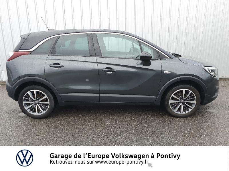 Opel Crossland X 1.2 Turbo 130ch Innovation Gris occasion à PONTIVY - photo n°4