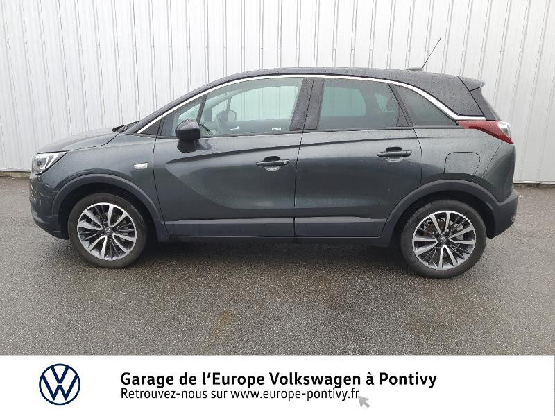 Opel Crossland X 1.2 Turbo 130ch Innovation Gris occasion à PONTIVY - photo n°2