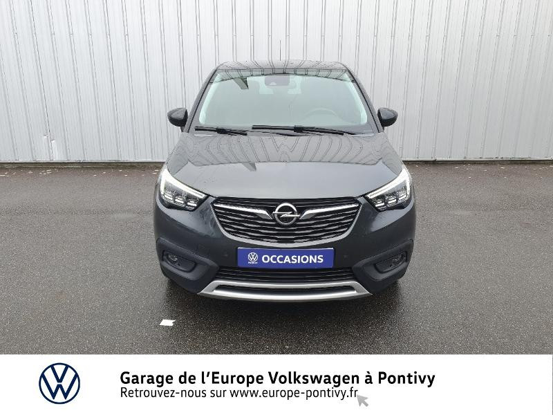 Opel Crossland X 1.2 Turbo 130ch Innovation Gris occasion à PONTIVY - photo n°5