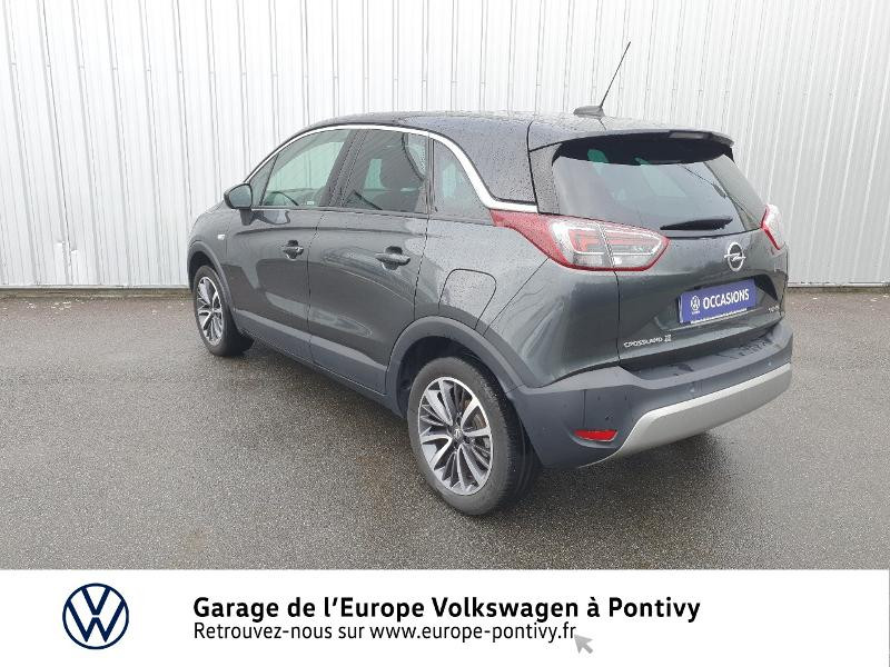 Opel Crossland X 1.2 Turbo 130ch Innovation Gris occasion à PONTIVY - photo n°3