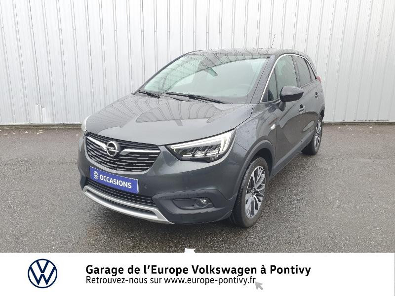Opel Crossland X 1.2 Turbo 130ch Innovation Gris occasion à PONTIVY - photo n°20