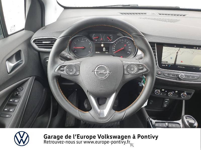 Opel Crossland X 1.2 Turbo 130ch Innovation Gris occasion à PONTIVY - photo n°7