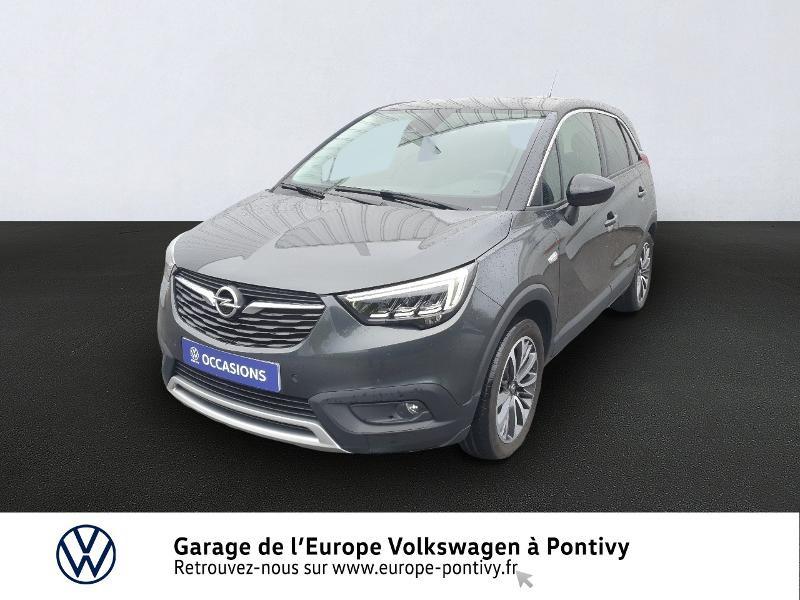 Opel Crossland X 1.2 Turbo 130ch Innovation Gris occasion à PONTIVY