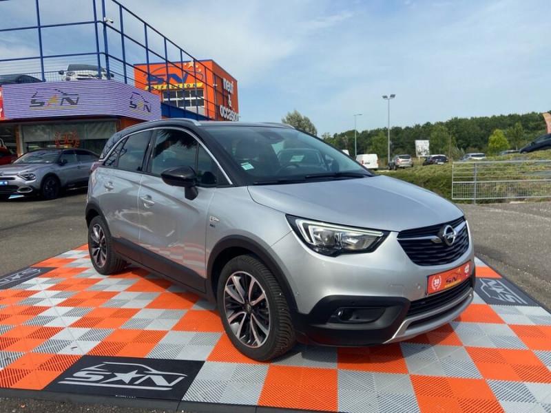 Opel Crossland X 1.5 D 102 BV6 DESIGN 120 ANS GPS Caméra Gris occasion à Montauban - photo n°5