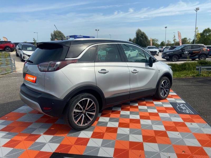 Opel Crossland X 1.5 D 102 BV6 DESIGN 120 ANS GPS Caméra Gris occasion à Montauban - photo n°3