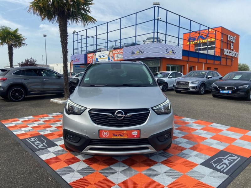 Opel Crossland X 1.5 D 102 BV6 DESIGN 120 ANS GPS Caméra Gris occasion à Montauban