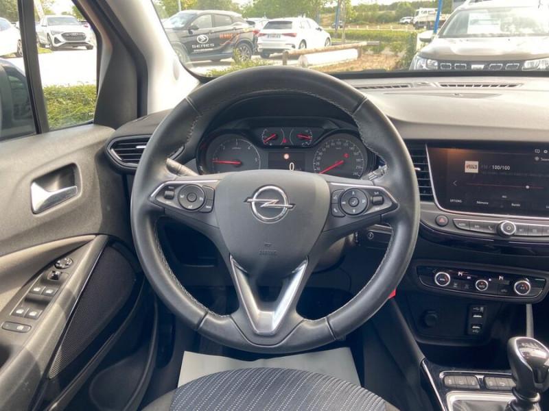 Opel Crossland X 1.5 D 102 BV6 DESIGN 120 ANS GPS Caméra Gris occasion à Montauban - photo n°16