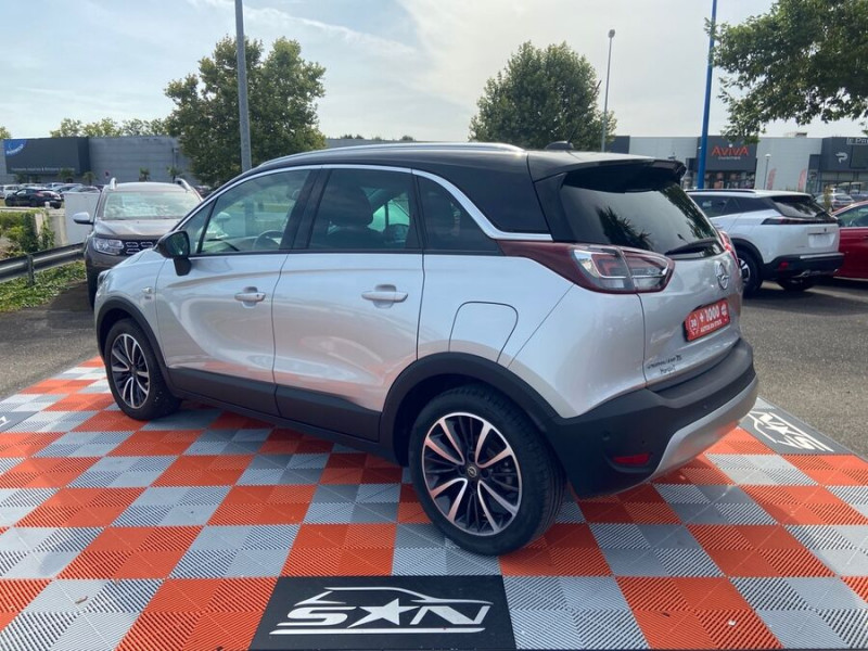 Opel Crossland X 1.5 D 102 BV6 DESIGN 120 ANS GPS Caméra Gris occasion à Montauban - photo n°7