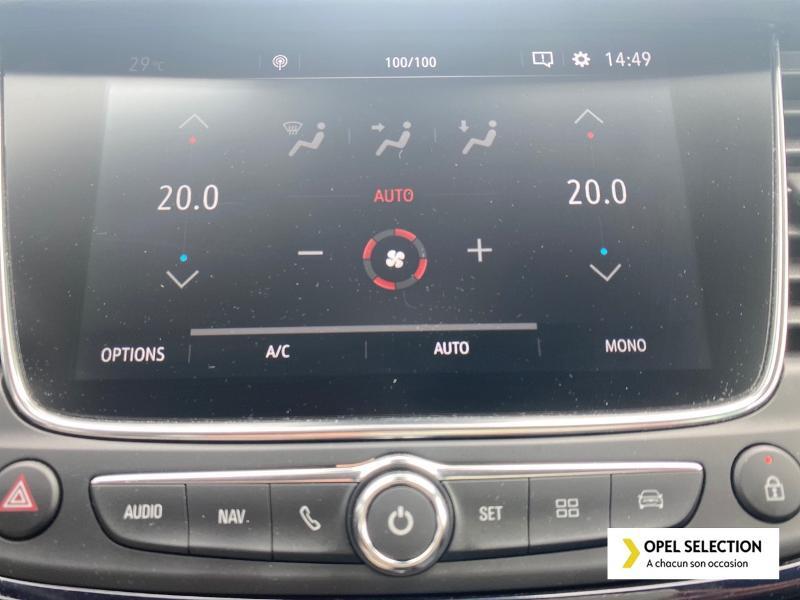 Opel Crossland X 1.5 D 102ch Design 120 ans Euro 6d-T Gris occasion à CASTRES - photo n°12